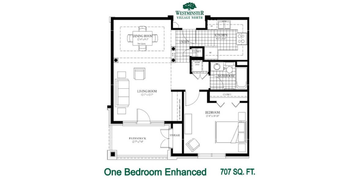 One Bedroom Enhanced