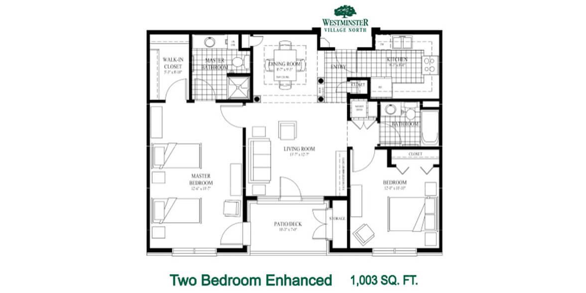 Two Bedroom Enhanced