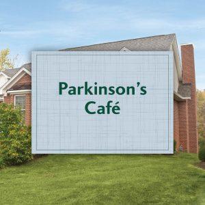 Parkinson's Cafe - Event title slide