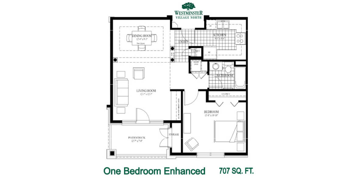 One Bedroom Enhanced