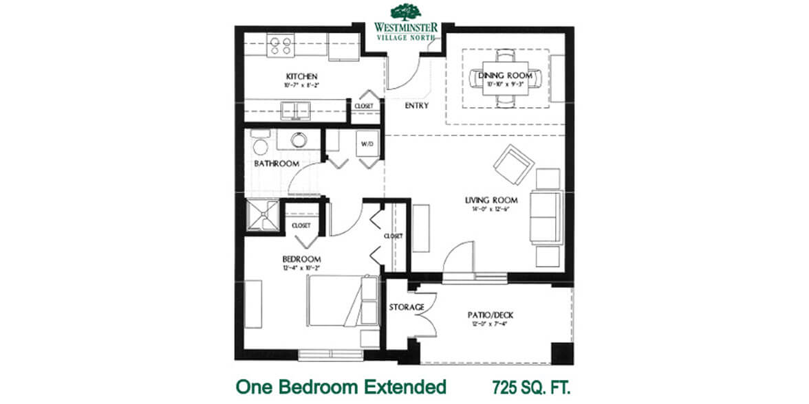 One Bedroom Extended