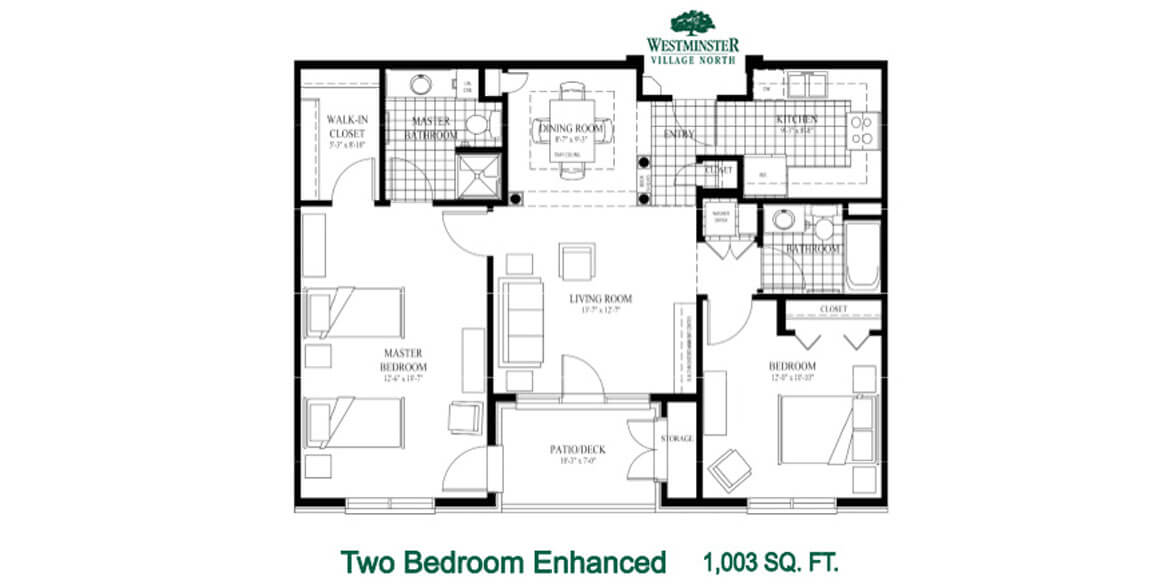 Two Bedroom Enhanced
