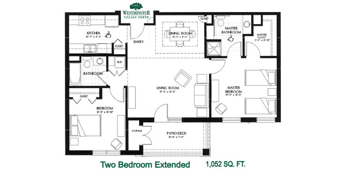 Two Bedroom Extended