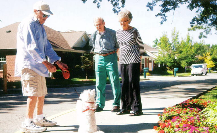 Resident Profile:  Jim and Nancy Russell