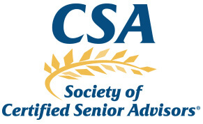 Logo - CSA - Society of Certified Senior Advisors - Click to learn more at their website