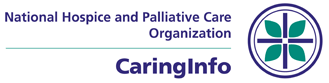 Logo - National Hospice and Palliative Care Organization - CaringInfo - Click to learn more at their website