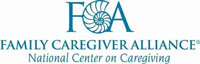 Logo - FCA - Family Caregiver Alliance - Click to learn more at their website