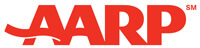Logo - AARP - Visit the AARP membership organization website
