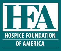 Logo - HFA - Hospice Foundation of America - Helping those coping with terminal illness, death and grief - Click to learn more at their website