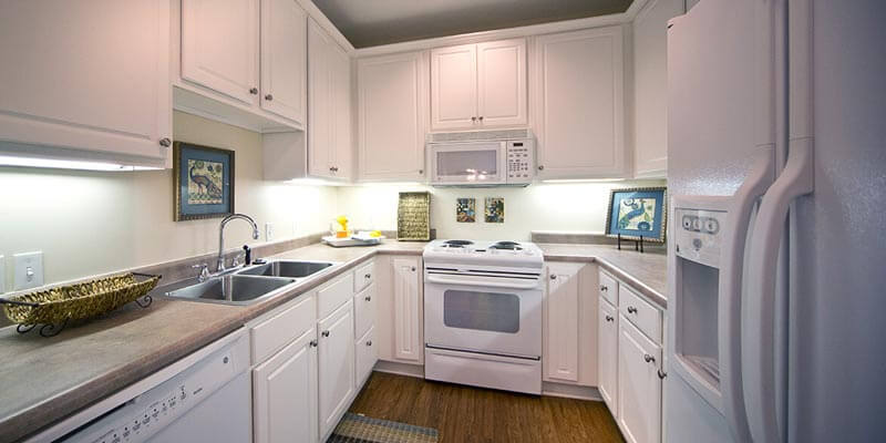 Independent Apartment kitchen