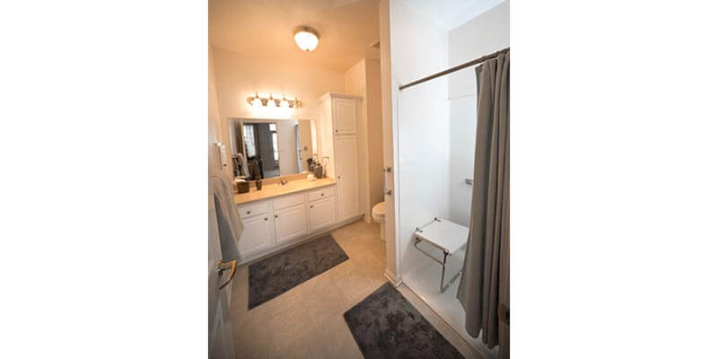 Independent Apartment bathroom