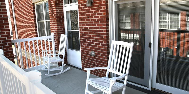 Independent Apartment porch
