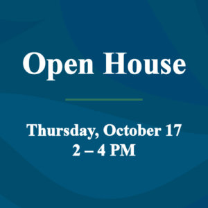 Open House October 17 feature image