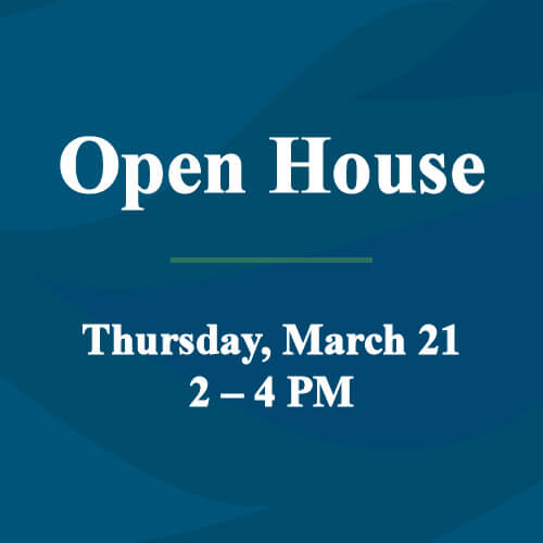 Open House March 21 feature image