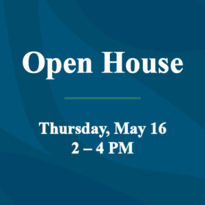 Open House May 16 feature image