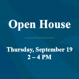 Open House September 19 feature image
